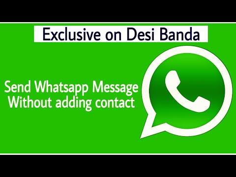 Send Whatsapp Msg Without Saving no.| Latest Whatsaap Trick 2017 | Open in Whatsapp Chat |Whatsapp |