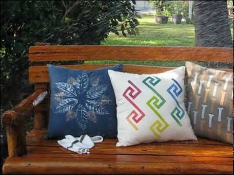 Bua Bhat Waterproof Cushion Cover