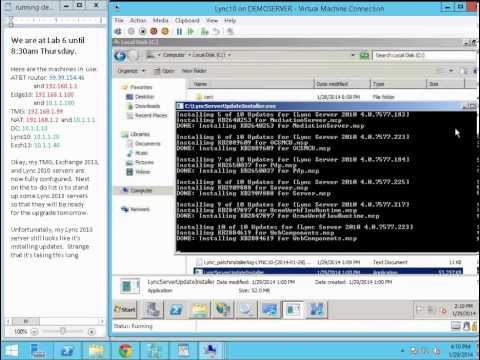Lync 2010 to 2013 demo   Part 4   Configuring Exchange 2013 and TMG