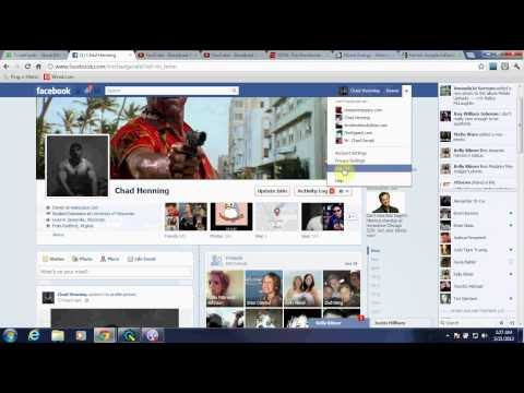 How to log out of facebook completely
