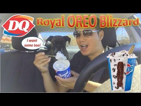 Dairy Queen Royal OREO Blizzard