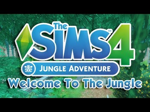JUNGLE ADVENTURE MINI SERIES 🍃 | THE SIMS 4 | Part 1 - WELCOME TO THE JUNGLE!