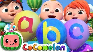 ABC Song with Balloons | CoCoMelon Nursery Rhymes & Kids Songs