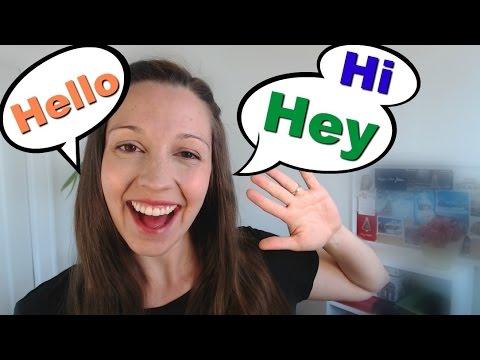 English Greetings: Back to English Basics Series