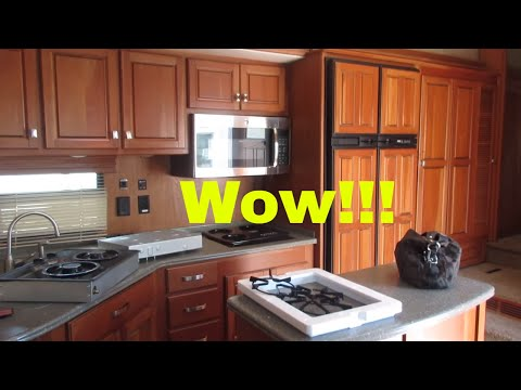 Camper Tour : AWESOME kitchen : Cool master : So much storage!
