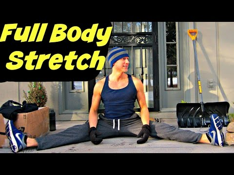 The BEST Stretches for Tight Hips and Hamstrings - Full Body Stretching Routine for Flexibility