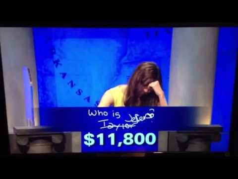 Best Final Jeopardy ever!