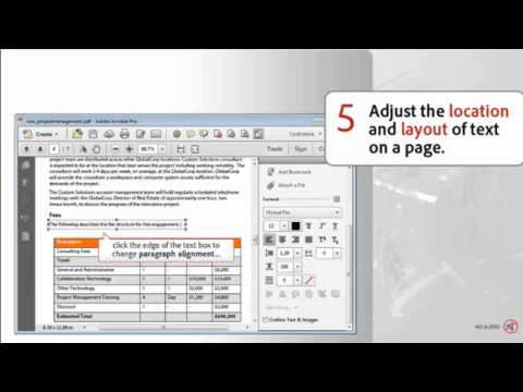 How to Edit Text in PDF Files