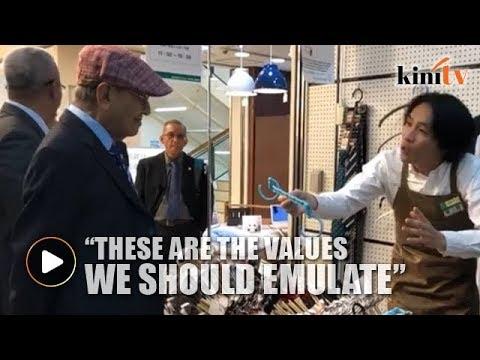 Passionate Japanese salesperson captures Mahathir's imagination