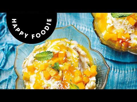 Mango, Rum and Lime Syllabub | Shelina Permaloo