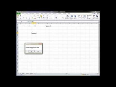 How to Create an SQL Database with Excel with VBA