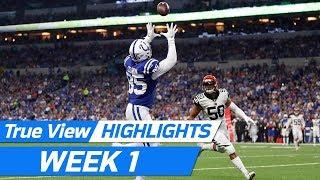 Top 360 & POV True View Plays of Week 1 | NFL True View