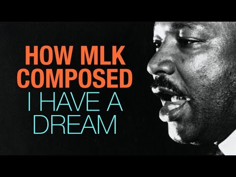 How Martin Luther King Jr. Wrote 'I Have A Dream'