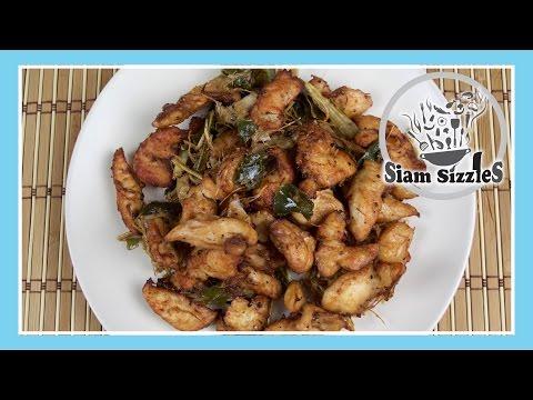 Thai Lemongrass Chicken Recipe (Gai Ta Krai)