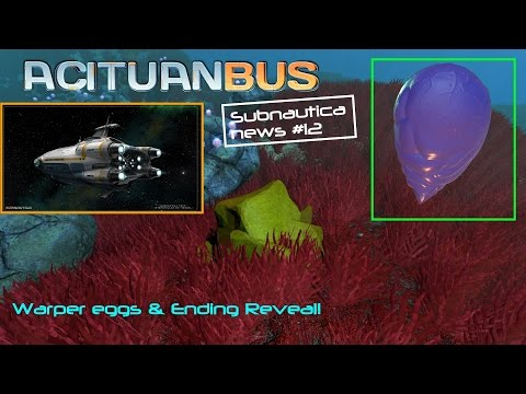 New Eggs & Subnautica ending?! | SubnauticaNews #12 - PlayItHub