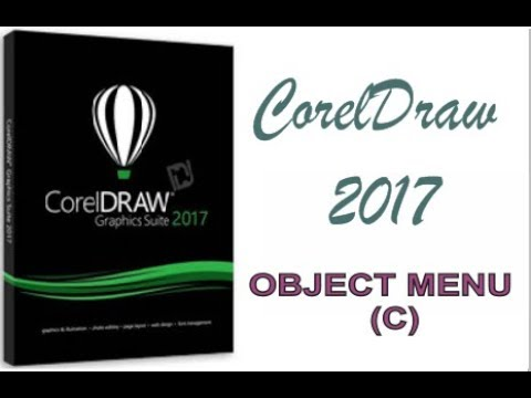 COREL DRAW 2017 USING OBJECT MENU HINDI URDU PART 46c