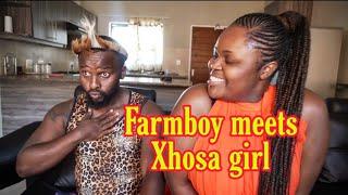 Farmboy meets Xhosa girl
