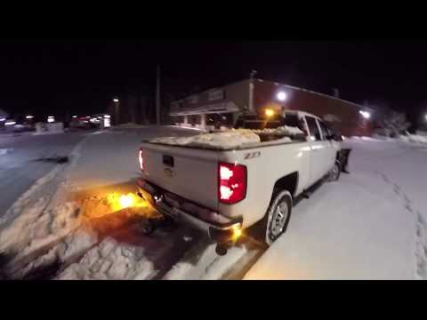 (POV): 2016 Chevrolet Silverado 2500HD Duramax Plow Truck (binaural)