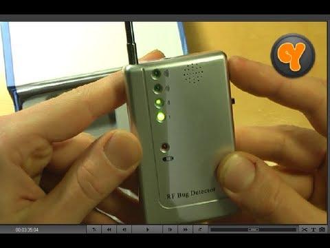 Unboxing/Test: RF Bug Detector / Scanner / Finder