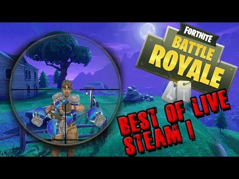 The best of fortnite battle royale live steam!!
