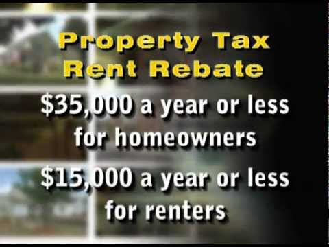 Property Tax/Rent Rebate Applications Now Accepted