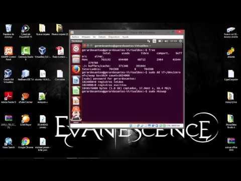 Incrementar Memoria Swap Ubuntu