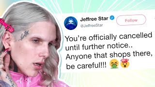Jeffree Star Cancels Makeup Brand After Seeing What's In It, They Clap Back