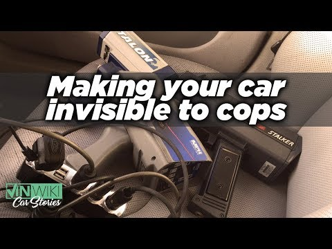 How do you make your car invisible to cops?