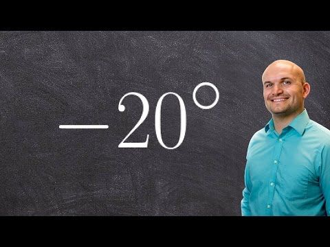 Converting a negative angle in degrees to radians   Math answers