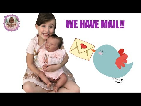 REBORN BABY MILLY & ALIYAH OPENING HAPPY MAIL!!