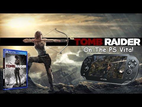 Tomb Raider 2013 Playing on the PlayStation Vita