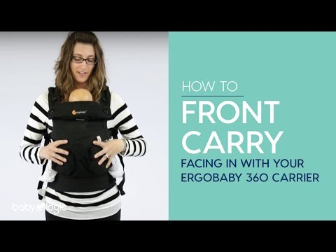CARRIER 101: FRONT CARRY FACING IN WITH ERGOBABY 360