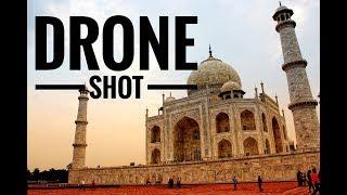 Beauty of Taj Mahal    Drone Shot   