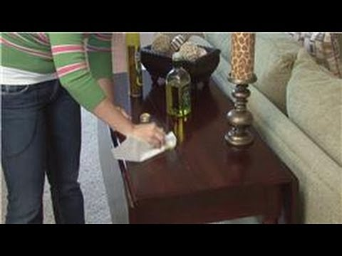 Housekeeping Tips : How to Care for a Wood Table