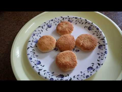 Coconut Macaroons eggless/ coconut macroons in Hindi (Christmas special recipe)By  sneha kitchen