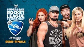 ROYAL 1'S (Charlotte/AJ) vs. UP-UPBEATNIKS (Becky/Sami) — Rocket League Tournament SmackDown Semis