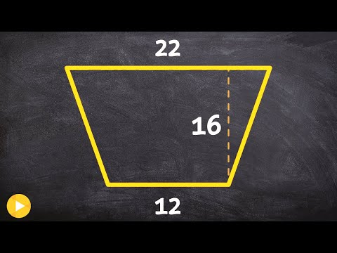 How to find the area of a trapezoid using the formula