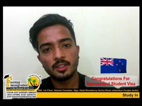 Success Story of Newzealand Student Visa