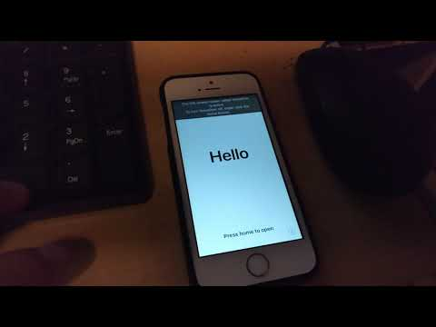 Iphone Broken Home Button: Getting past activation/setup requiring home.  Need Itunes