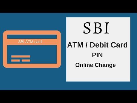 SBI ATM/Debit Card PIN Change Online (Guide)