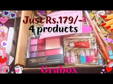 GRABOX -4 Products for just Rs.179/-