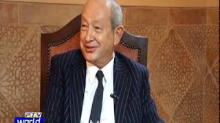 Exclusive Interview of Egyptian Business Magnate Mr. Naguib Sawiris.