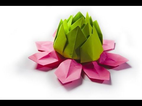 How to make a paper flower | origami lily