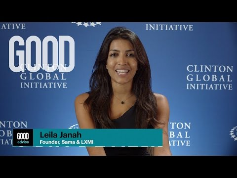 GOOD Advice from Leila Janah