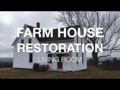 Farm House Restoration   $300 Living Room Reno   Ep.1  