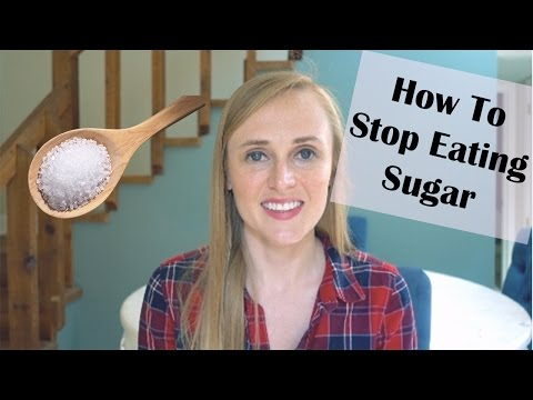 ADDICTED TO SUGAR?! // how to stop eating sugar