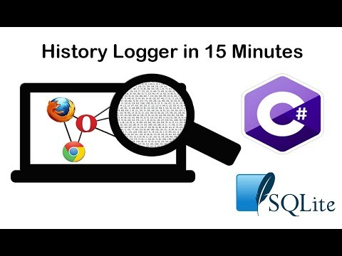 Coding Night: C# Browser History Logger (SQLite)