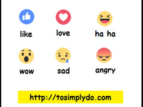 Facebook added new emojis to like button