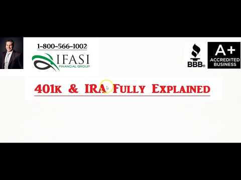 401k and IRA - What is a 401k and IRA