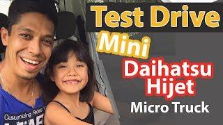Test Drive Mini Daihatsu Hijet Micro Truck